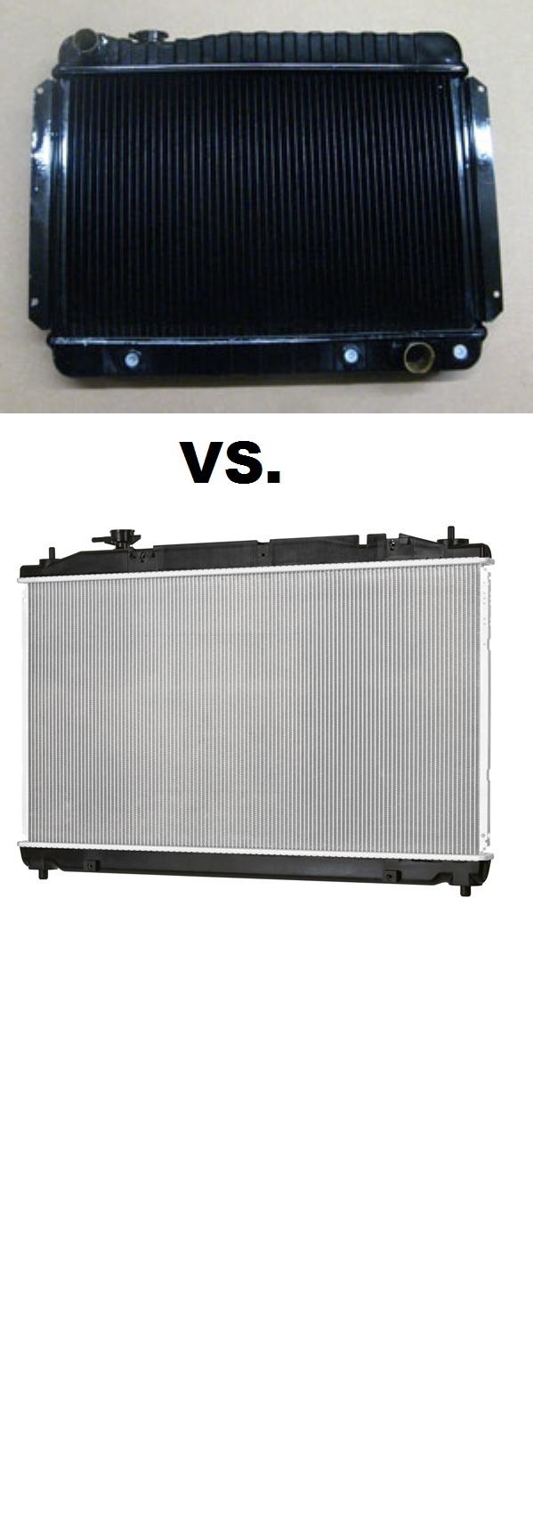 Aluminum Vs Copper Conductors : Aluminum radiator brass vs